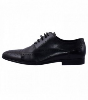 Pantofi eleganti barbati, din piele naturala, marca Saccio, 131310A-01-17, negru