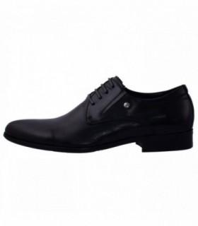 Pantofi eleganti barbati, din piele naturala, marca Eldemas, 2-086-10-01-24, negru