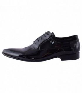 Pantofi eleganti barbati, din piele naturala, marca Saccio, 268-R21-01-17, negru