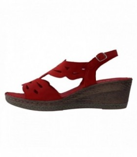 Sandale dama, din piele naturala, marca Walk, 2805-05-38, rosu