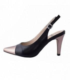 Pantofi dama, din piele naturala, marca Caprice, 29610-01-03, negru
