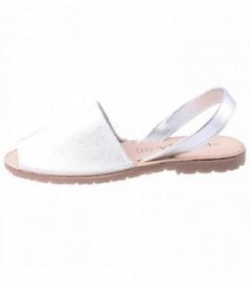 Sandale dama, din piele naturala, marca Carmela, 65618-18-44, argintiu