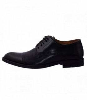 Pantofi eleganti barbati, din piele naturala, marca Wanted, 8005-4201N-01-73, negru