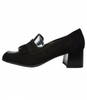Pantofi dama, din piele naturala, marca Alpina, 8625-2-01-23, negru