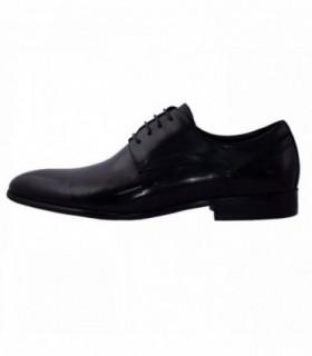 Pantofi eleganti barbati, din piele naturala, marca Alberto Clarinii, A037-51A-01-113, negru