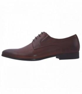 Pantofi eleganti barbati, din piele naturala, marca Saccio, A372-60B-02-17, maro