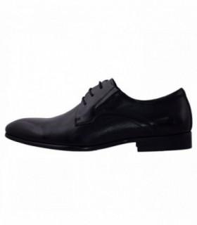 Pantofi eleganti barbati, din piele naturala, marca Saccio, A581-03A-01-17, negru