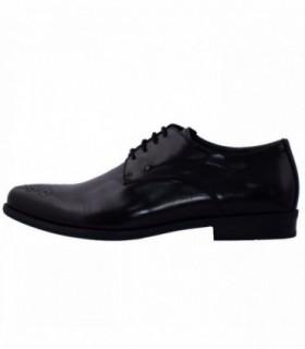 Pantofi eleganti barbati, din piele naturala, marca Rieker, B2610-00-01-22, negru