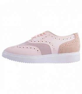 Pantofi dama, din piele naturala, marca Geox, D724BB-M8-06, roz