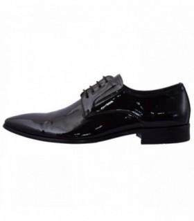 Pantofi eleganti barbati, din piele naturala, marca Saccio, J2582-F07B-02-17, negru