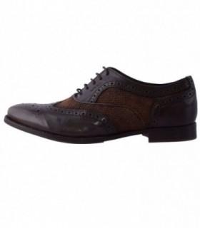 Pantofi eleganti barbati, din piele naturala, marca Geox, U32P2C-02-06, maro