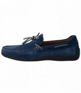 Pantofi eleganti barbati, din piele naturala, marca Geox, U42D3B-M6-06, albastru
