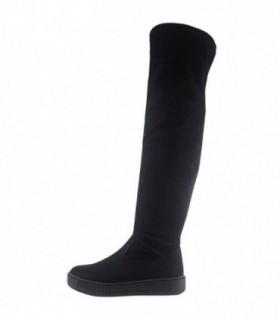 Cizme dama, din piele sintetica, marca Marco Tozzi, 25625-01-08, negru