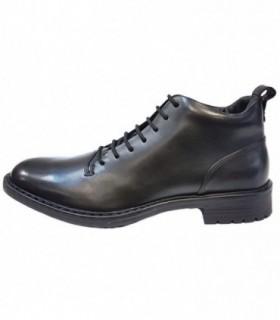 Ghete barbati, din piele naturala, marca Geox, U743PC-01-06, negru