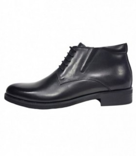 Ghete barbati, din piele naturala, marca Eldemas, 9811-5A-01-24, negru