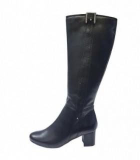 Cizme dama, din piele naturala, marca Gatta, 530651-01-11, negru