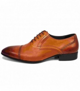 Pantofi eleganti barbati, din piele naturala, marca Saccio, 369-67c-02-17, camel