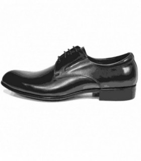 Pantofi eleganti barbati, din piele naturala, marca Eldemas, 8868-2A-01-24, negru