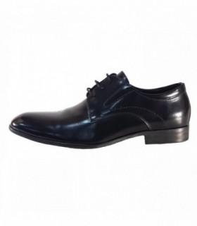 Pantofi eleganti barbati, din piele naturala, marca Eldemas, 6A89-1-01-24, negru