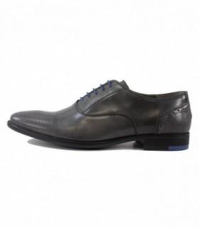 Pantofi eleganti barbati, din piele naturala, marca Marco Santini, A6H2947-14-28, gri