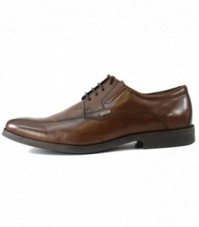 Pantofi eleganti barbati, din piele naturala, marca Bugatti, T5507-02-123, maro