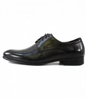 Pantofi eleganti barbati, din piele naturala, marca Eldemas, A362-20-01-24, negru