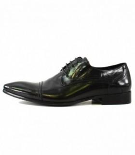 Pantofi eleganti barbati, din piele naturala, marca Alberto Clarinii, D7712-S01A-01-113, negru