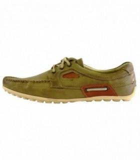 Pantofi eleganti barbati, din piele naturala, marca Krisbut, 4613-3-1-14-119, bej