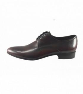 Pantofi eleganti barbati, din piele naturala, marca Conhpol, C00C-3348-30-40, bordo