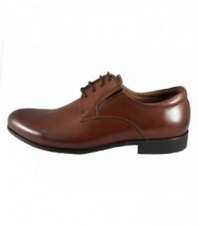 Pantofi eleganti barbati, din piele naturala, marca Eldemas, 2811-1BS-16-24, maro