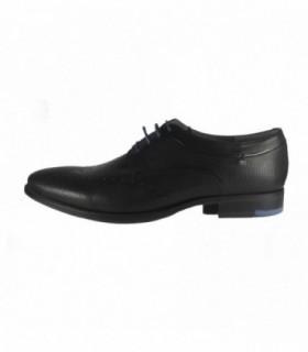 Pantofi eleganti barbati, din piele naturala, marca Marco Santini, A6G2947N-01-28, negru
