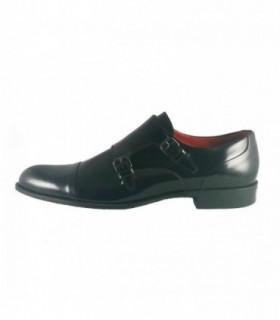 Pantofi eleganti barbati, din piele naturala, marca Conhpol, 5099-01-40, negru