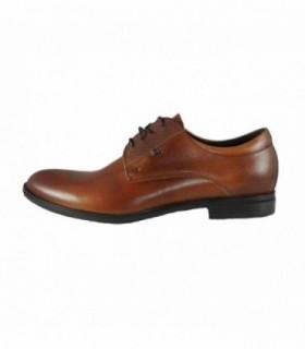 Pantofi eleganti barbati, din piele naturala, marca Conhpol, C00C-5734-16-40, maro