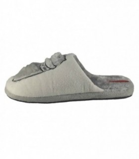 Papuc de casa dama, din textil, marca Gioseppo, Joggy-13-12, alb