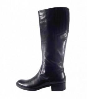 Cizme dama, din piele naturala, marca Geox, D1390E-01-06, negru