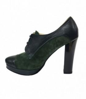 Botine dama, din piele naturala, marca Botta, 486-06-05, verde