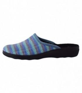 Papuc de casa dama, din textil, marca Inblu, CA91-004-BLU-42, bleumarin