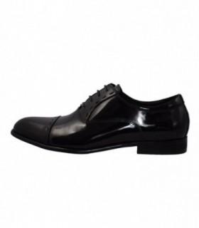 Pantofi barbati, din piele naturala, marca Saccio, A084-6A-1, negru