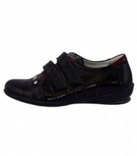 Pantofi copii, din piele naturala, marca Viva Bimba, b1-4-1, negru