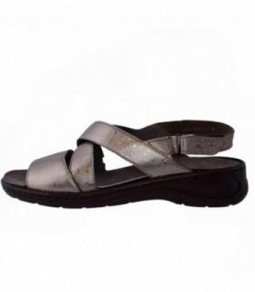Sandale dama, din piele naturala, marca Ara, B22-56556-12, auriu