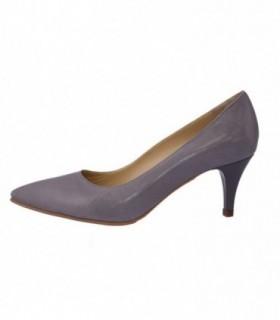 Pantofi dama, din piele naturala, marca Botta, B634-14, gri