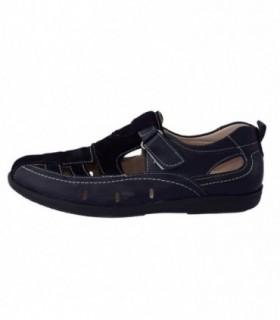 Pantofi copii, din piele naturala, marca Viva Bimba, oo1-42, bleumarin