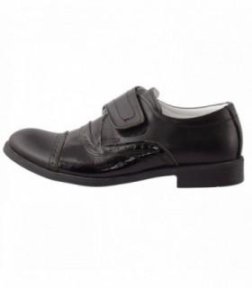 Pantofi copii, din piele naturala, marca Hobby bimbo, 0-2-1, negru