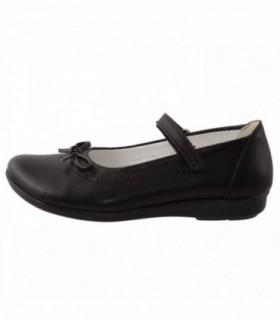 Pantofi copii, din piele naturala, marca Hobby bimbo, 0-4-1, negru