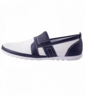 Pantofi copii, din piele naturala, marca Hobby bimbo, 10-13, alb