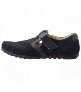 Pantofi copii, din piele naturala, marca Hobby bimbo, 19-42, bleumarin