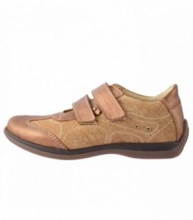 Pantofi copii, din piele naturala, marca sOliver, 6909W4C-3, bej