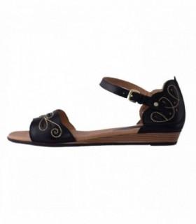 Sandale dama, din piele naturala, marca Pikolinos, 816-0582-1, negru