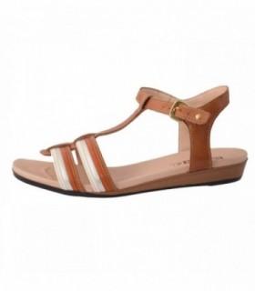 Sandale dama, din piele naturala, marca Pikolinos, 816-7507-03-16-21, maro