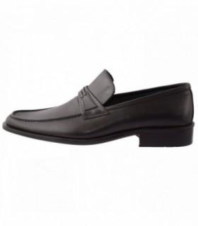Pantofi barbati, din piele naturala, marca Endican, 915-1, negru